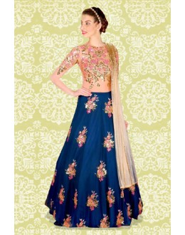 Bollywood Replica - Festival Wear Blue Lehenga Choli - 60160