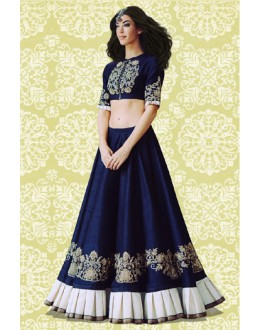 Bollywood Replica - Festival Wear Blue Lehenga Choli - 60163