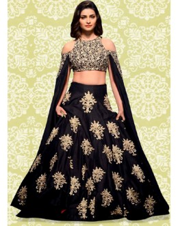 Bollywood Replica - Designer Black Lehenga Choli - 60165