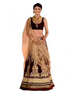 Bollywood Replica - Wedding Wear Maroon Lehenga Choli - 60182
