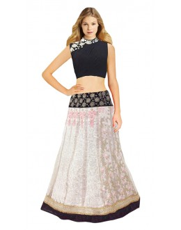 Bollywood Replica - Fancy Off White Lehenga Choli - 60188