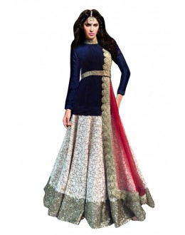 Bollywood Replica - Fancy Off White Lehenga Choli - 60190