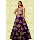 Bollywood Replica - Festival Wear Purple Lehenga Choli - 60196D
