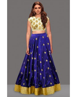 Bollywood Replica - Designer Blue Lehenga Choli - 60236
