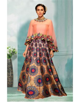Bollywood Inspired  - Karishma Kapoor Multi-Colour Lehenga Choli - 60336