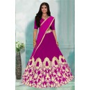 Traditional Pink Tafeta Lehenga Choli -60350C