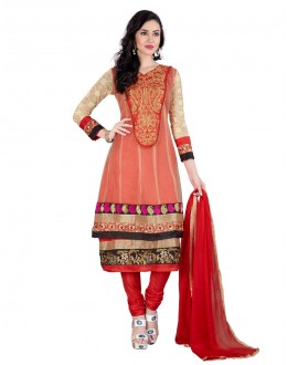Festival Wear Multi-Colour Net Anarkali Suit - EBSFSK223022