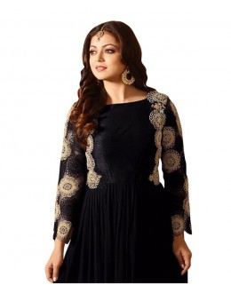 Eid Special Black Georgette Anarkali Suit -  70636