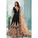 Bollywood Replica - Designer Black Anarkali Suit - 70748-A