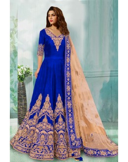 Bollywood Replica - Party Wear Blue Anarkali Suit - 70748-C
