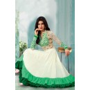 Ethnic Wear Off White Georgette Anarkali Suit  - 71158D
