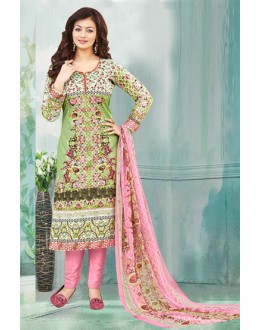 Ayesha Takia In Multi-Colour Salwar Suit  - 71164