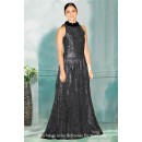 Bollywood Inspired - Party Wear Black Gown - 71193