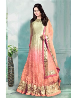 Bollywood Inspired - Wedding Wear Net Gown - 71197