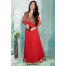Bollywood Inspired - Fancy Red Gown - 71200