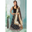 Bollywood Inspired - Wedding Wear Black Gown - 71201