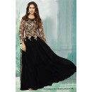 Bollywood Inspired - Party Wear Black Gown - 71207