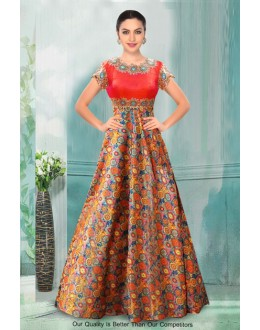 Bollywood Inspired - Ethnic Wear Multi-Colour Gown - 71213
