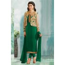 Prachi Desai In Green Georgette Salwar Suit  - 71179A