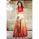 Wedding Wear Red Anarkali Gown - 71425