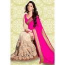 Bollywood Inspired : Tamanna Bhatia In Pink Saree - 803037C