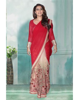 Bollywood Inspired - Kajol In Half & Half Saree  - 80752