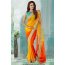 Bollywood Inspired - Party Wear Georgette Saree  - 80790