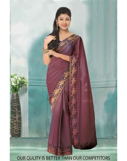 Bollywood Inspired - Ethnic Wear Light Purple Saree  - 80802