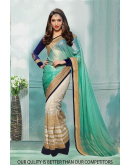 Bollywood Inspired - Tamanna Bhatia In Georgette Saree  - 80821