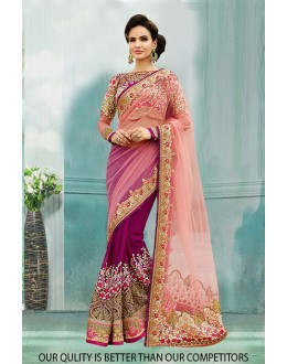 Bollywood Inspired - Festival Wear Georgette Saree  - 80827