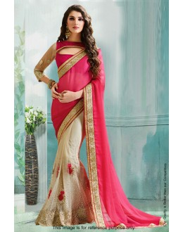Bollywood Inspired - Festival Wear Half & Half Saree  - 80834