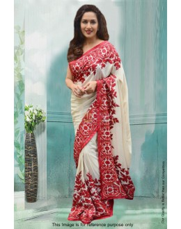 Bollywood Inspired - Madhuri Dixit In Georgette Saree  - 81292