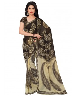 Party Wear Multi Colour Ranyal Printed Saree  - 81781