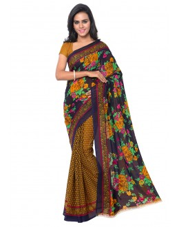 Traditional Wear Multi Colour Ranyal Printed Saree  - 81797