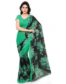 Casual Wear Multi Colour Ranyal Printed Saree  - 81851