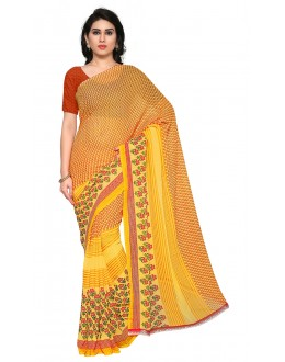 Festival Wear Multi Colour Ranyal Printed Saree  - 81909