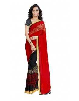 Casual Wear Multi Colour Ranyal Printed Saree  - 81936