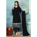 Party Wear Black Georgette Beautiful Salwar Suit - EBSFSK223007C ( EBSFSK22 )
