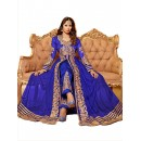 Wedding Wear Blue Net Anarkali Suit  - EBSFSK14201C ( EBSFSK14 )