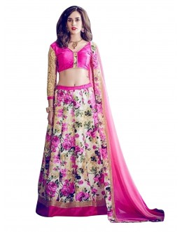Banglori Silk Embroidered Pink Lehenga Suit - EBSFSK28910 ( EBSFSK28 )
