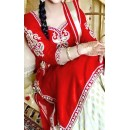 Cotton Red Patiala Suit Dress Material - EBSFSKSJ429012