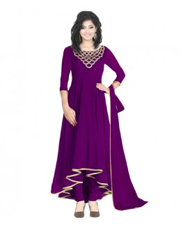 Eid Special  Purple Georgette  Salwar suit  - 70499