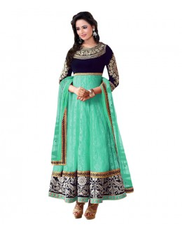 Eid Special Sea Green Santoon Salwar suit  - EBSFSK223061C