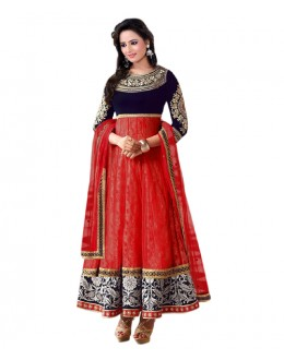 Eid Special Red Santoon Salwar suit  - EBSFSK223061F
