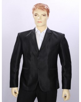 Party Wear Black Coat For Men - ECC07