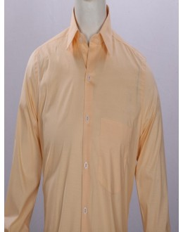 Officer Fit Cotton Peach Formal Shirt - EC1017PH