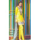 Ethnic Wear Yellow Pure Lawn Salwar Suit  - FA398-2002