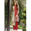 Casual Wear Red Georgette Salwar Suit  - FA411-09