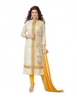 Party Wear Off White Salwar Suit - FD170-175