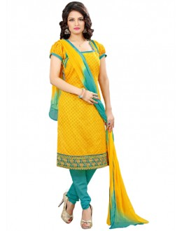 Casual Wear Yellow Salwar Suit - FD170-176
